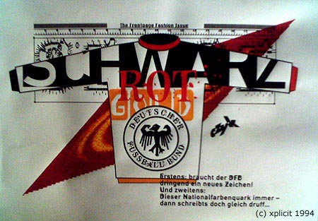 Schwarz Rot Gold (c) xplicit 1994