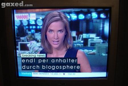 endl per anhalter durch blogosphere