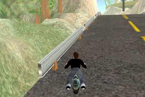 SL Motorrad fahren