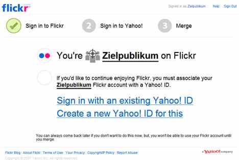 Flickr zu Yahoo!