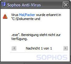 Mal/Packer-Virus