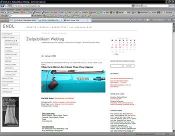 Webdesign Zielpublikum © Endl 2008