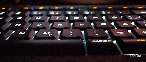 LOGITECH Illuminated Keyboard - Bild © Endl 2008