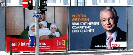 Werbeplakate © Endl 2009
