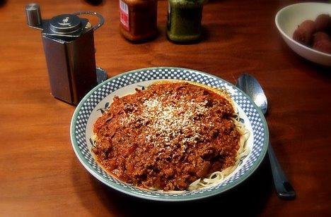Spaghetti Bolognese © Endl 2009