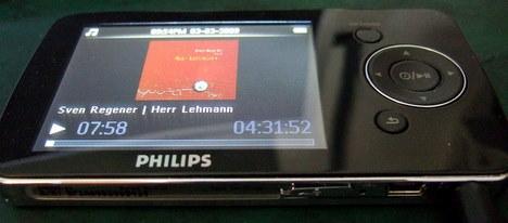 Philips GoGear und Herr Lehmann