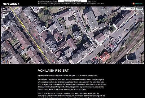 Bildzitat Spreeblick-Streik