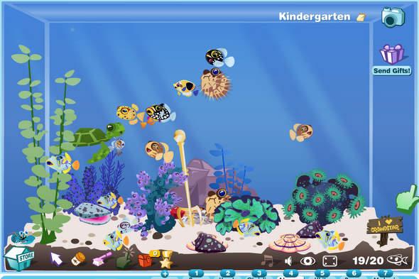 Happy Aquarium als Facebook-App