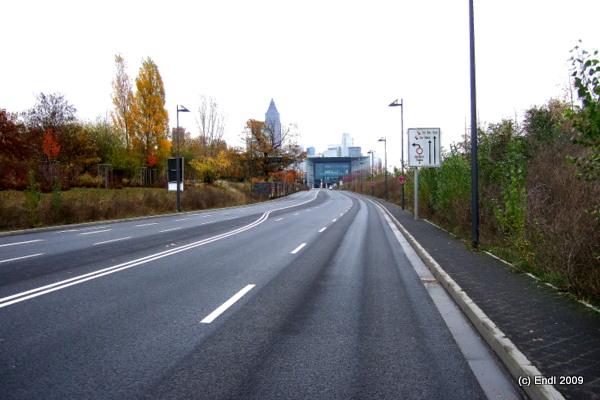 Straßenneubau - Frankfurt
